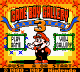 Game Boy Gallery 3 Screenshot Titelbild