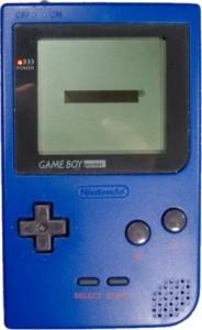 Der kleinste Game Boy Pocket in der Farbe Blau